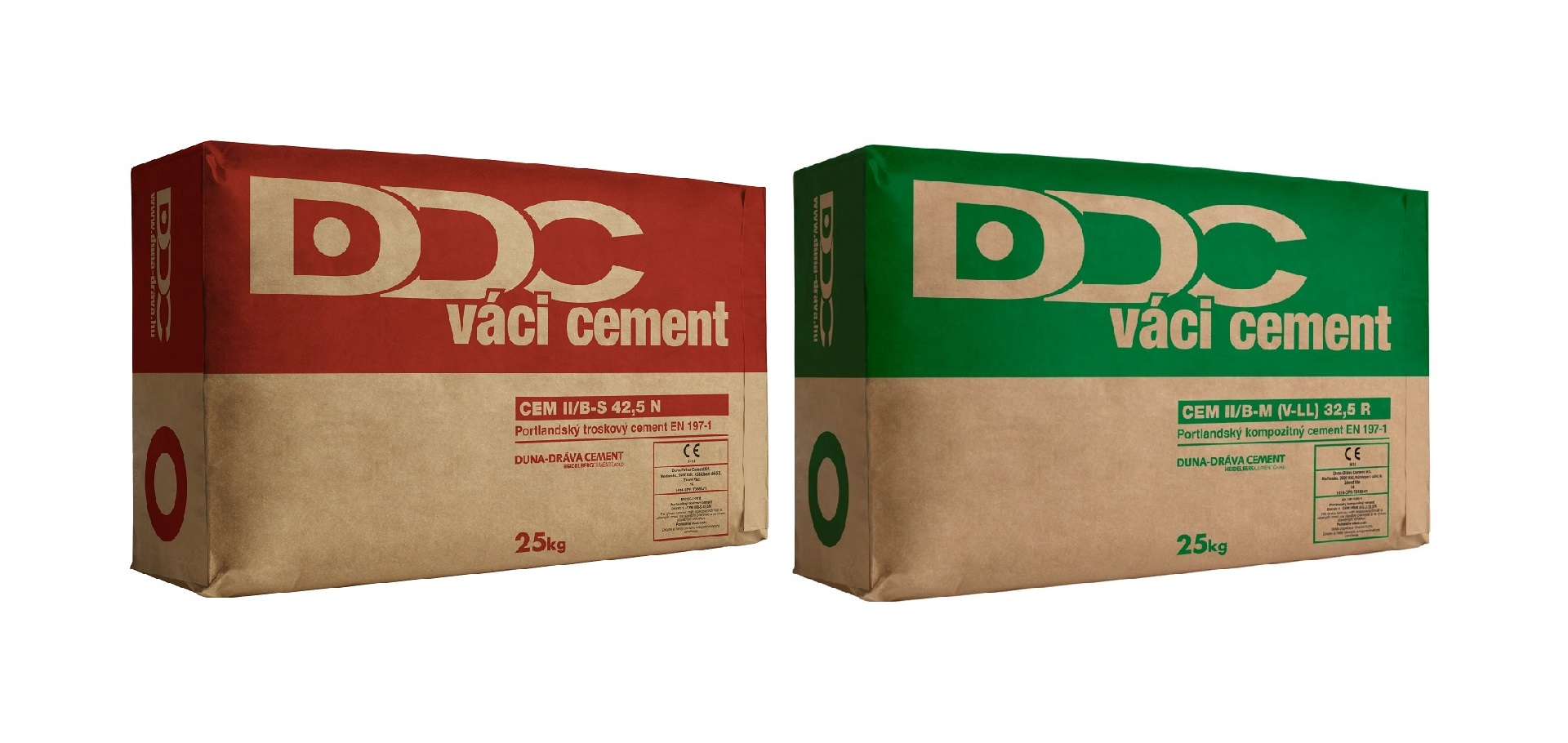 Typy cementu